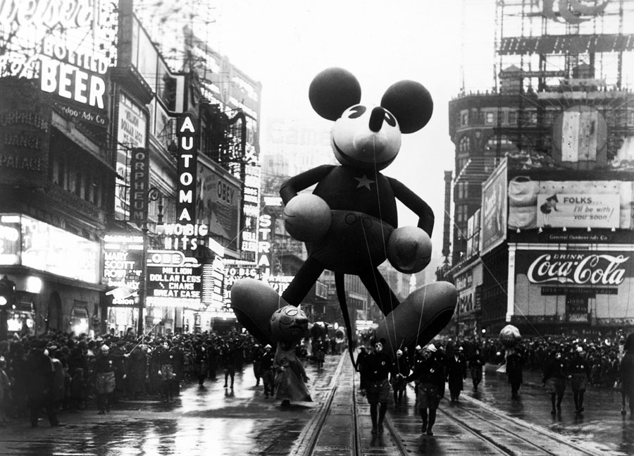 Mickey Mouse at Macy's Parade