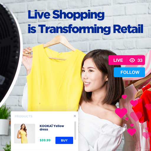 live shopping transforming retail