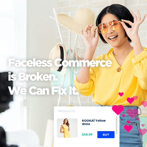 Faceless commerce is broken and we can fix it